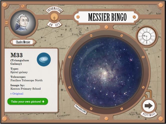 Messier Bingo Scrn2